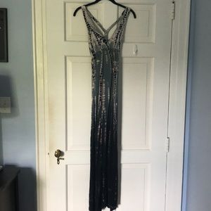 Hard tail forever tie dye maxi dress